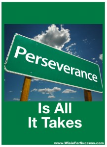 Perseverance Key to Success